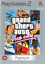 Игра Grand Theft Auto: Vice City на PlayStation